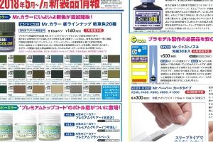 第57回静岡ホビーショー「GSIクレオス」新商品t