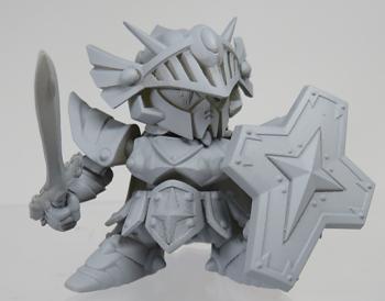 ガシャポン戦士 EX05 FA騎士ガンダム&ブラックドラゴン (2)