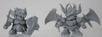 ガシャポン戦士 EX05 FA騎士ガンダム&ブラックドラゴン (3)