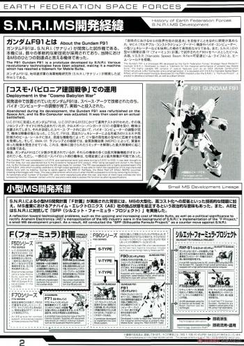 MG ガンダムF91 Ver.2.0の説明書画像 (1)