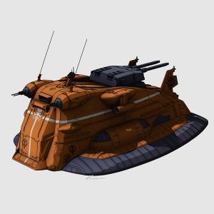 大型陸戦艇ギャロップ(ガルマ専用機)