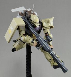 RG MS-06F ザク・マインレイヤー (3)