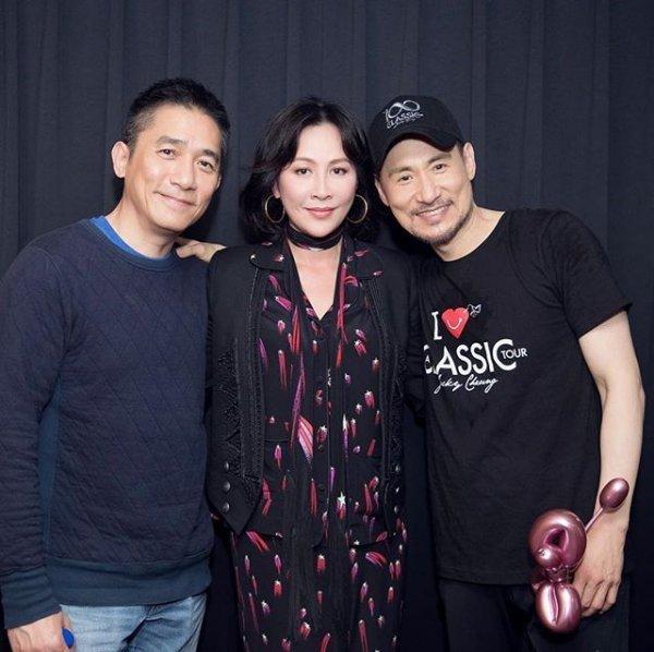 トニーさん&カリーナ&張學友@張學友台北演唱会