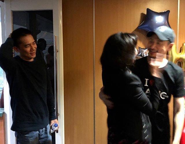 トニーさん&カリーナ&張學友@張學友台北演唱会2