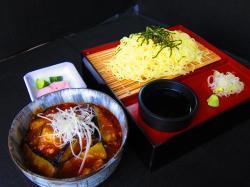 麻婆茄子丼 ラーメン