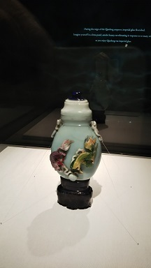 清朝皇帝のガラス
