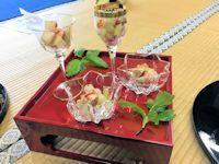a13 春野菜梅肉和え2