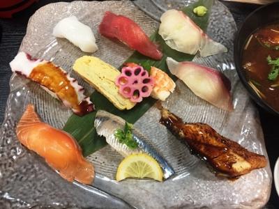 170906生吉寿司サービス10貫セット780円寿司10貫