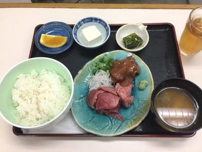 170908どんぶりや呉服町店日替りA定食700円