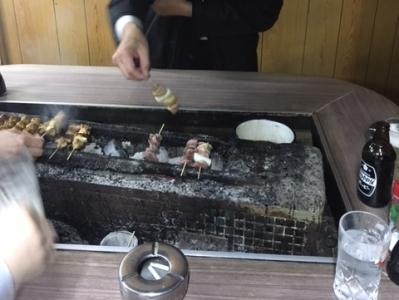 171127ニューカヤバ焼鳥は自分で焼きます