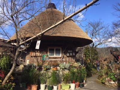 180103山麓苑食事をする樽は醤油を醸造していた樽