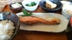 鮭の麹づけ定食