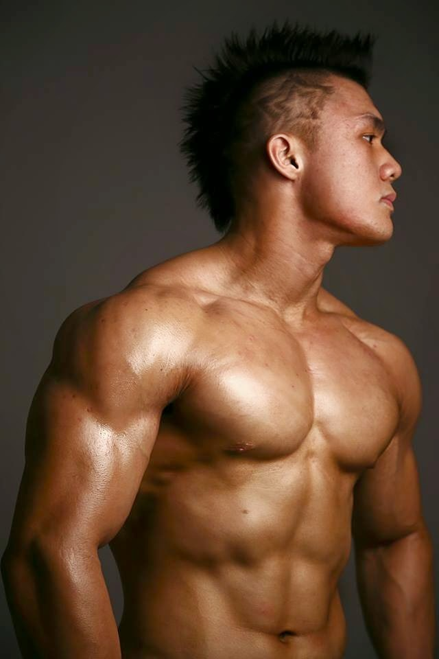 How Mun Loong Thai Bodybuilder Asian Muscle 4
