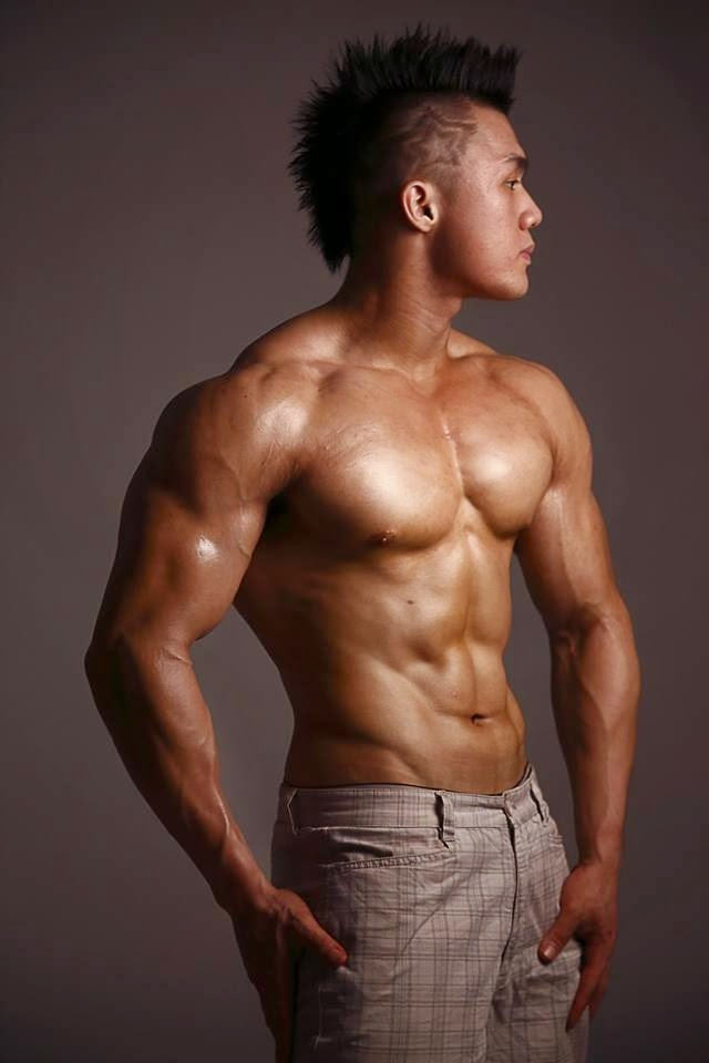 How Mun Loong Thai Bodybuilder Asian Muscle 5