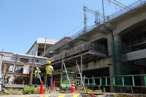 旧新潟駅ホーム