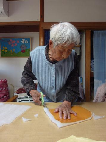 巾着作り1