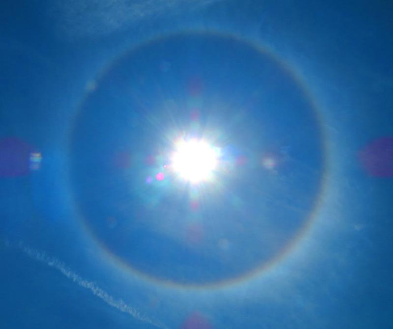 180521,日暈と彩雲1