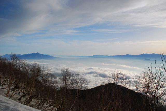 鳳凰三山_稜線_雲海