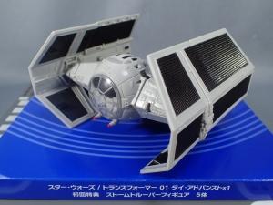 スター・ウォーズ トランスフォーマー 01 タイ・アドバンストx1 初回特典付 (8)