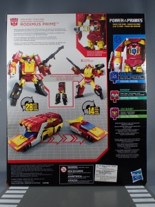 Transformers Generations Power of the Primes Leader Evolution Rodimus Prime Autobot Hot Rod (3)