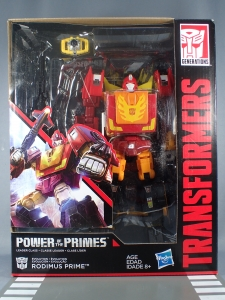 Transformers Generations Power of the Primes Leader Evolution Rodimus Prime Autobot Hot Rod (2)