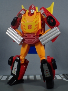 Transformers Generations Power of the Primes Leader Evolution Rodimus Prime Autobot Hot Rod (19)