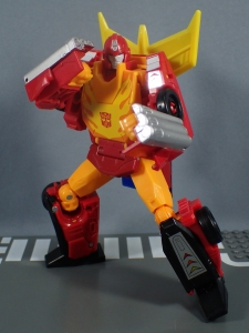 Transformers Generations Power of the Primes Leader Evolution Rodimus Prime Autobot Hot Rod (18)