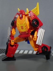 Transformers Generations Power of the Primes Leader Evolution Rodimus Prime Autobot Hot Rod (21)