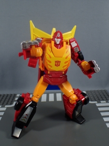 Transformers Generations Power of the Primes Leader Evolution Rodimus Prime Autobot Hot Rod (24)
