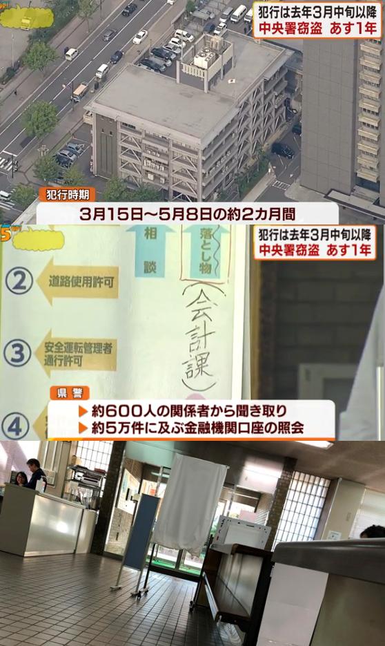 広島中央署 5月7日