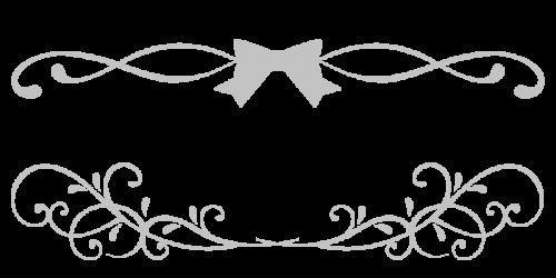 りぼんぼん黒灰
