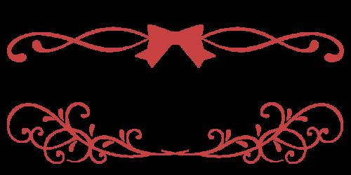 りぼんぼん黒赤
