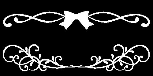 りぼんぼん黒白