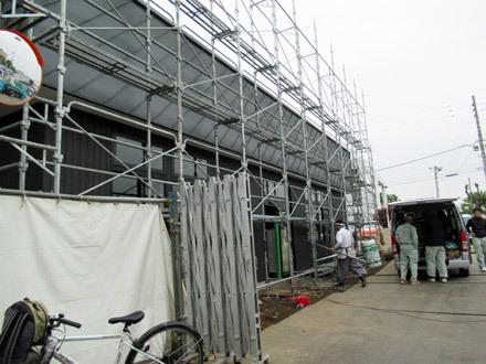倉式珈琲店建設中
