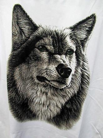 ハスキーTシャツ