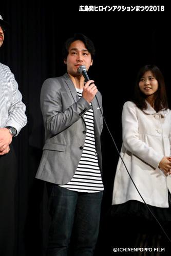 広島発ヒロインアクションまつり2018_9 アイドルスナイパー舞台挨拶