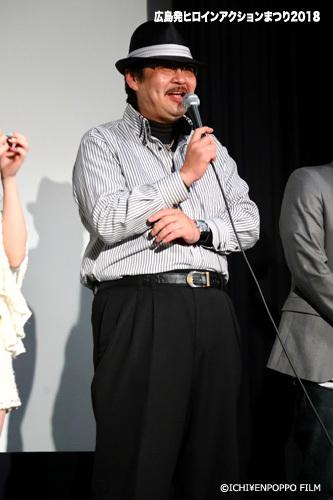 広島発ヒロインアクションまつり2018_10 アイドルスナイパー舞台挨拶
