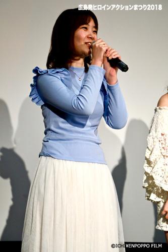 広島発ヒロインアクションまつり2018_12 アイドルスナイパー舞台挨拶