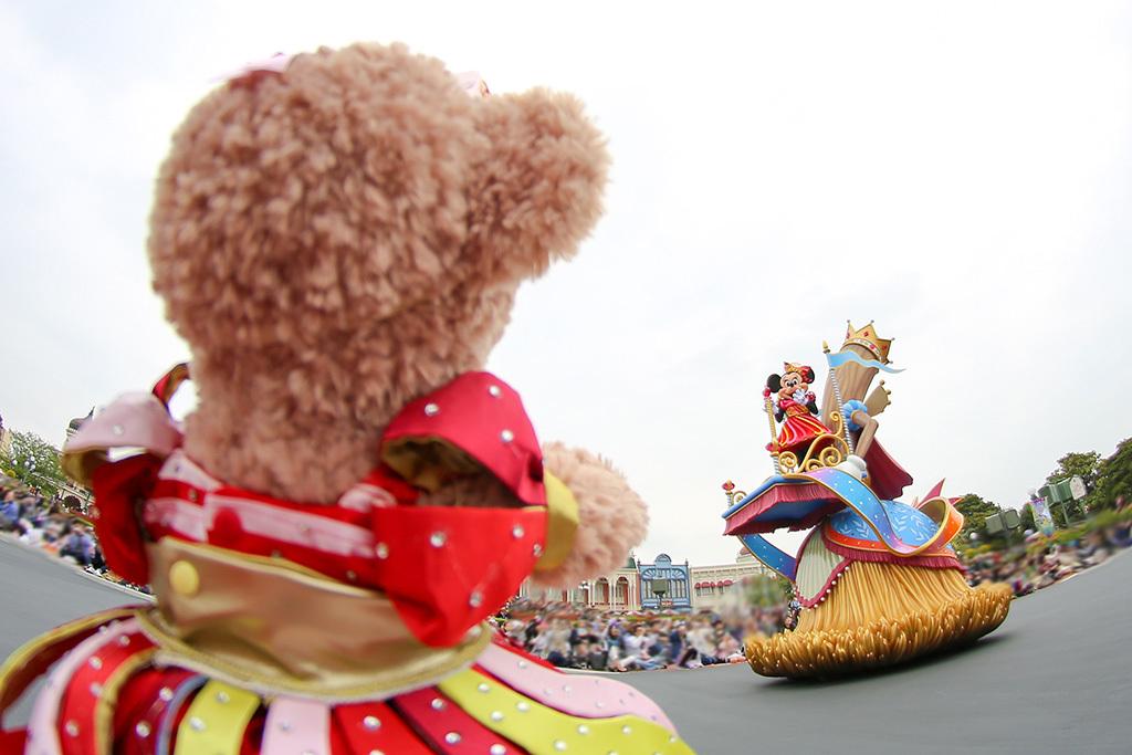 パレードでミニーちゃんが気付いてくれた♡/ドリーミングアップ1
