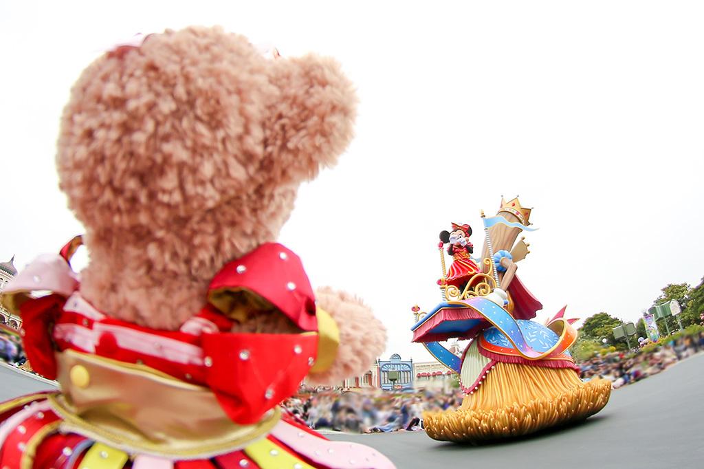 パレードでミニーちゃんが気付いてくれた♡/ドリーミングアップ2