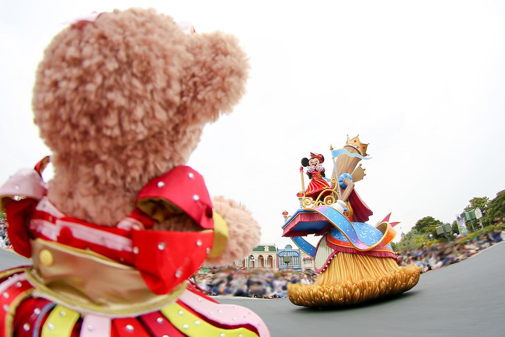 パレードでミニーちゃんが気付いてくれた♡/ドリーミングアップ3