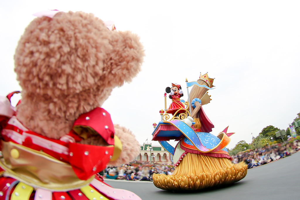 パレードでミニーちゃんが気付いてくれた♡/ドリーミングアップ4