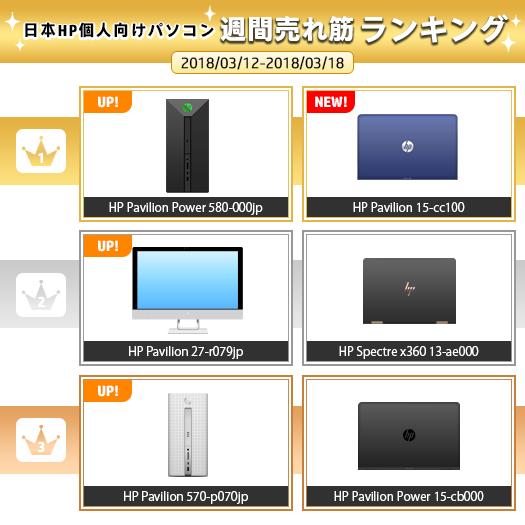 525_HPパソコン売れ筋ランキング_180318_01a