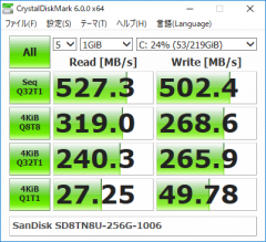 EliteBook x360 1020 G2_CrystalDiskMark_256GB SSD_03
