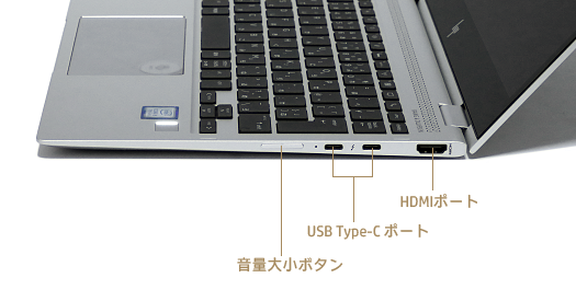 HP-EliteBook-x360-1020-G2_0G1A0541_右側面インターフェース_02a