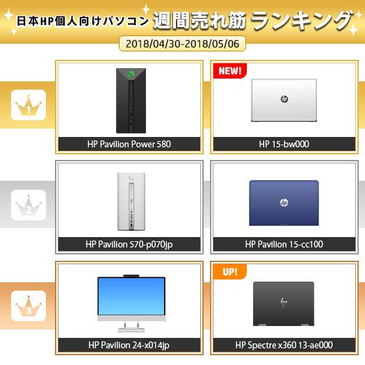 525_HPパソコン売れ筋ランキング_180506_01a
