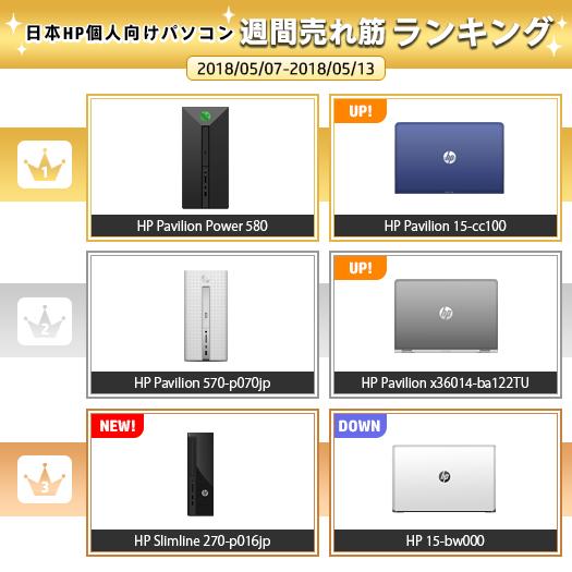 525_HPパソコン売れ筋ランキング_180513_01a