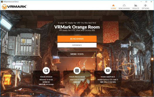 VR Mark Orange Room