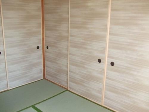 ルノン 凛 絣(かすり)灰桜色no.310