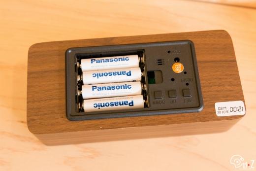 USB アラームクロック 置き時計